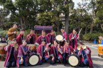 №13 やんさ太鼓保存会が大井競馬場で開催されるフリーマーケットに出演しました
